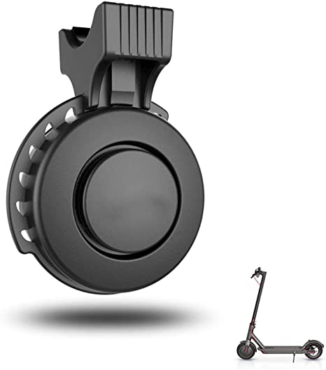 ABEDOE Mini Campanello per Bicicletta Elettrico Compatibile per