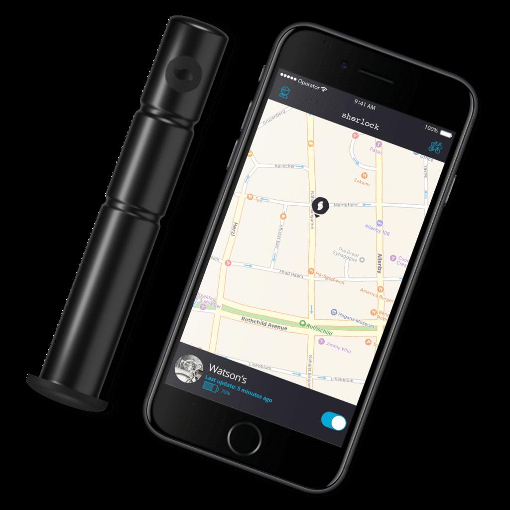 Antifurto GPS Invisibile Sherlock – In Bici Contromano