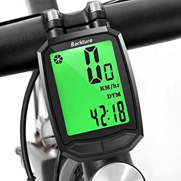 BACKTURE Computer da Bicicletta, Ciclocomputer Senza Fili