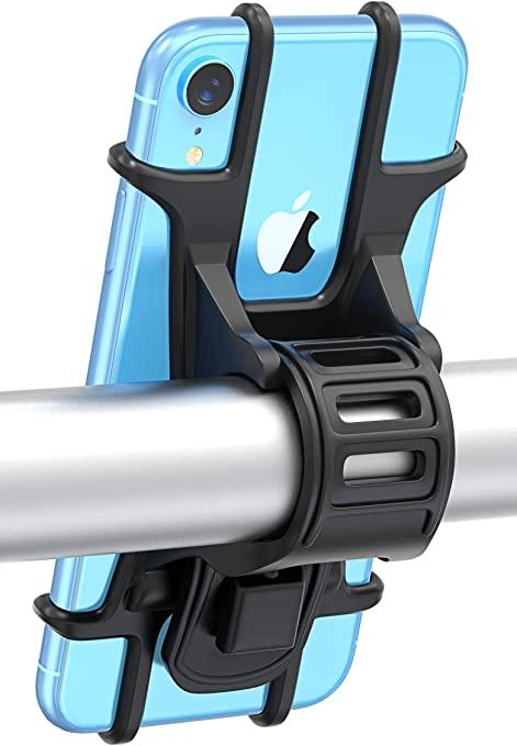 Bovon Porta Cellulare Bici, Supporto Bici Smartphone, Manubrio