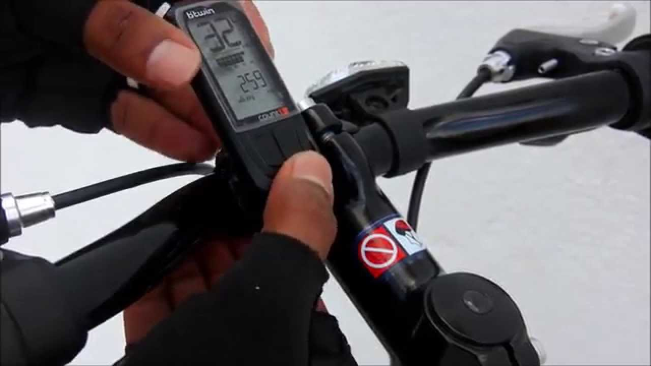 Btwin count 8 - YouTube