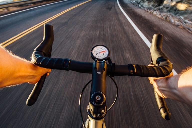 Contachilometri analogico da bici
