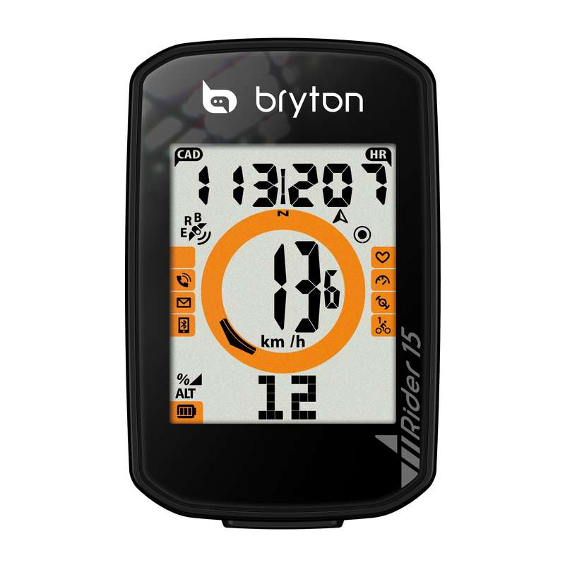 Contachilometri GPS RIDER 15 BRYTON - CONTACHILOMETRI BICI