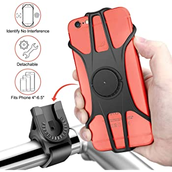 Emooqi Porta Cellulare per Bici, Supporto Bici Smartphone 360