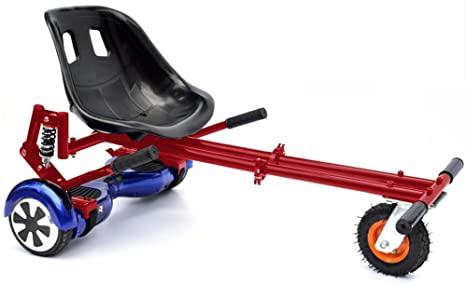 Hoverkart Rosso per Hoverboard! Trasforma il tuo balance scooter