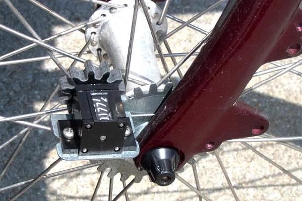 Il contachilometri meccanico da bicicletta