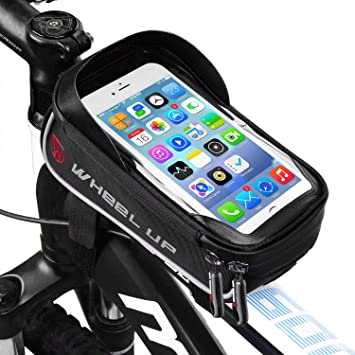 LIDIWEE Borsa Telaio Bici, Wheel Up 6 inch Porta Cellulare Bici