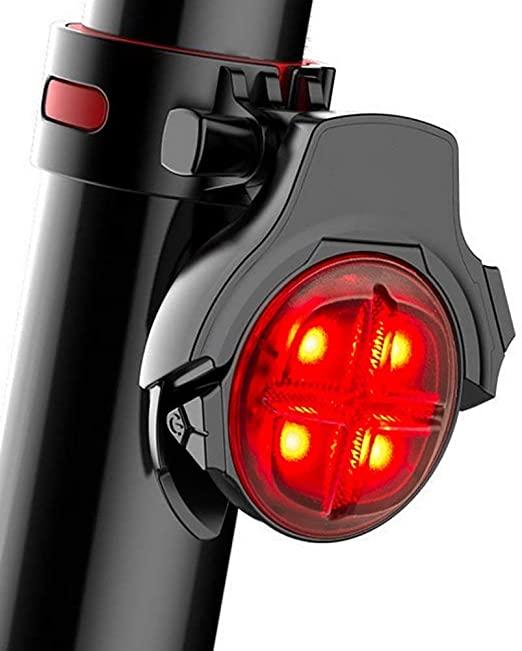 MUTANG Luci posteriori per bici Ricaricabile USB - Potente luce