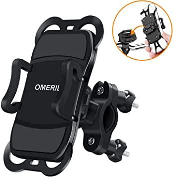 OMERIL Supporto Smartphone Bici, Supporto per Cellulare 360