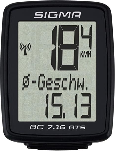 Sigma ciclocomputer senza fili BC 7.16 ATS: