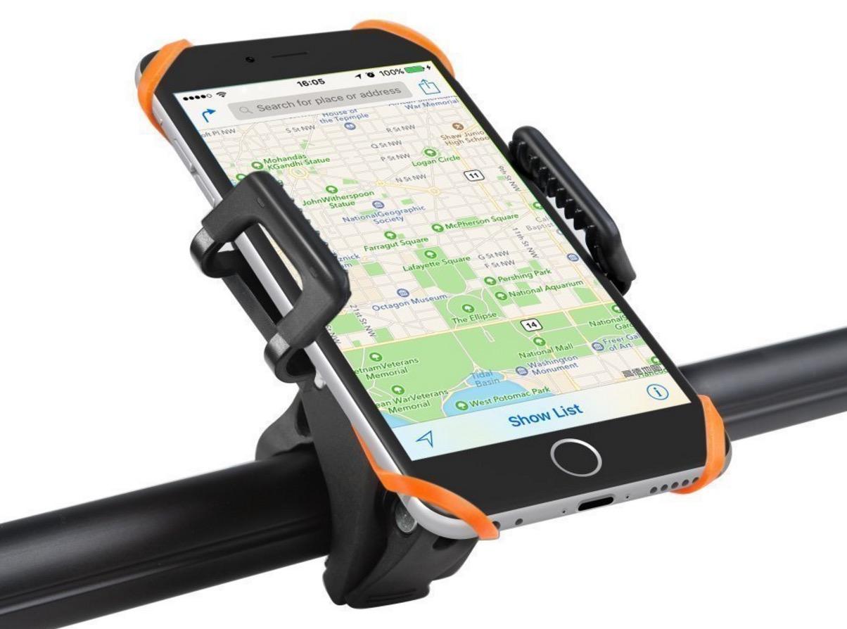 Supporto universale per smartphone in bicicletta: 11,89 euro con