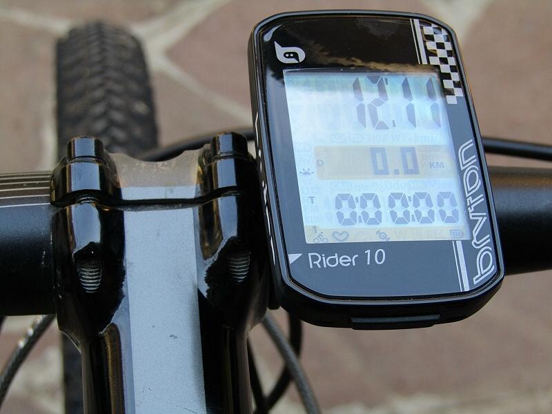 Test Bryton Rider 10, quello che piace è il prezzo, ma non solo