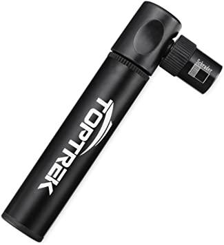 Toptrek mini pompa da bicicletta – compatibile con valvola Presta