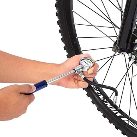 VGEBY1 Mini Pompa ad Aria, Pompa per Bicicletta Portatile 88PSI